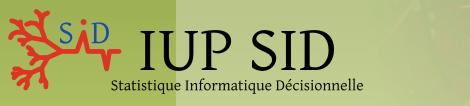 IUP SIDStatistique Informatique Decisionnelle à Toulouse